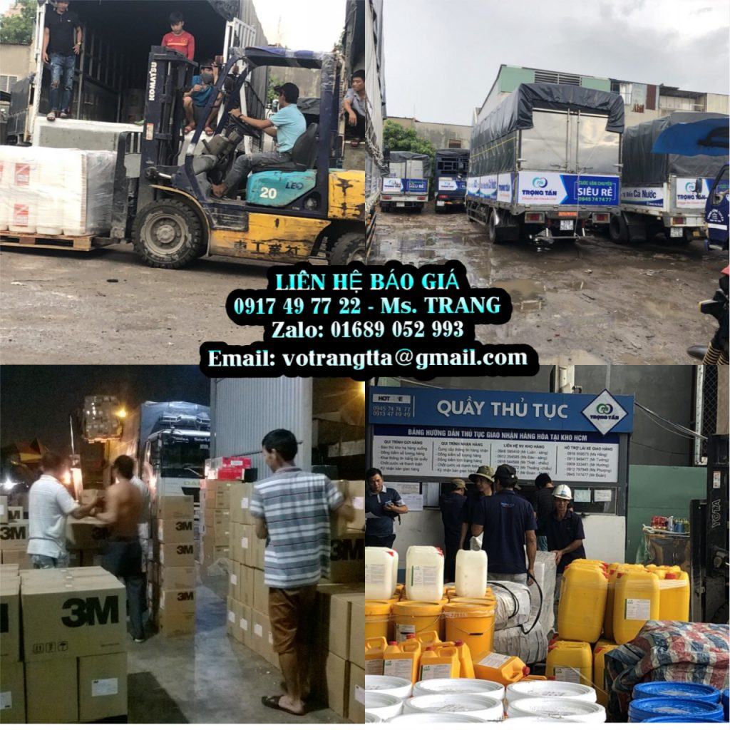 Chành xe chuyển hàng Bình Dương Quảng Bình