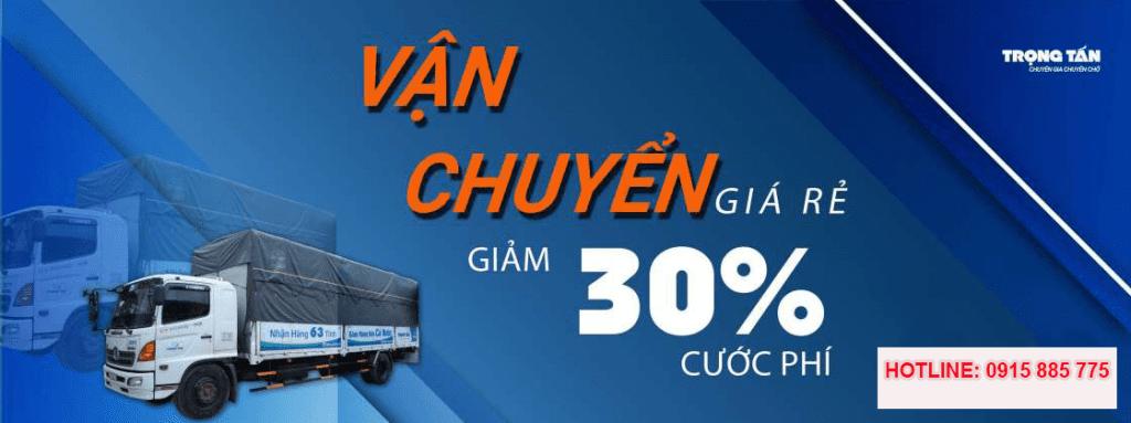 Cước chuyển hàng HCM đi Hà Nội