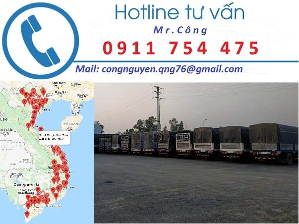 vận chuyển hàng hóa đi Sài Gòn