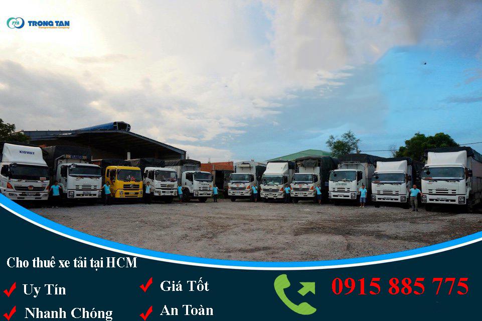 Cho thuê xe tải tại Bình Dương