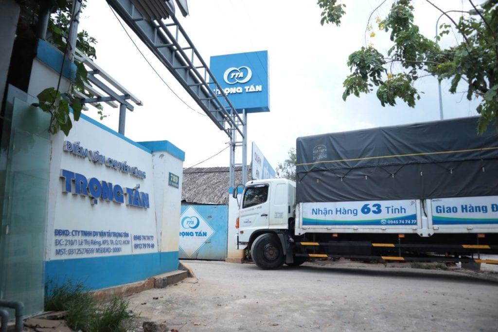 Chành xe ghép hàng HCM đi Hà Nội