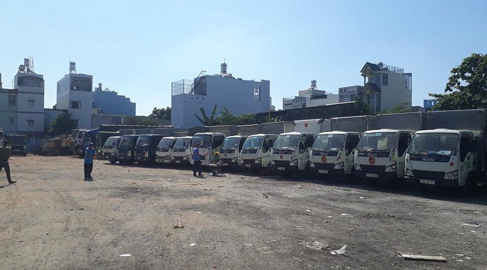 Cho thuê xe tải tại HCM