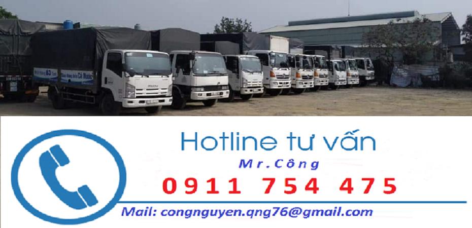 Chành xe gửi hàng đi Hà Nội trong ngày