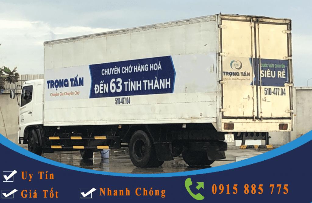 Ghép hàng từ HCM đi Hà Nội bằng xe tải thùng kín
