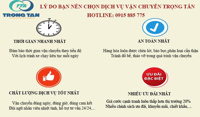 Lợi ích khi sử dụng dịch vụ chành xe chuyển hàng Hà Nội Đà Nẵng