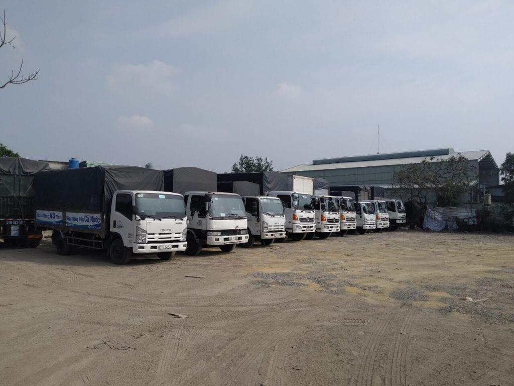 Vận chuyển nhà trọn gói tại HCM