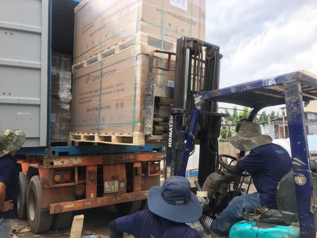 Chành xe chuyển hàng đi Sài Gòn