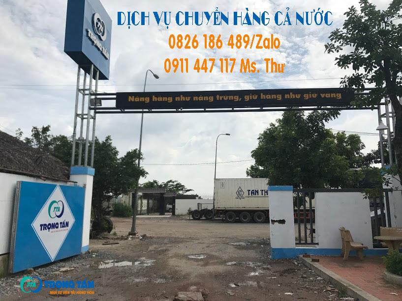Chở Hàng Sài Gòn Về Cà Mau