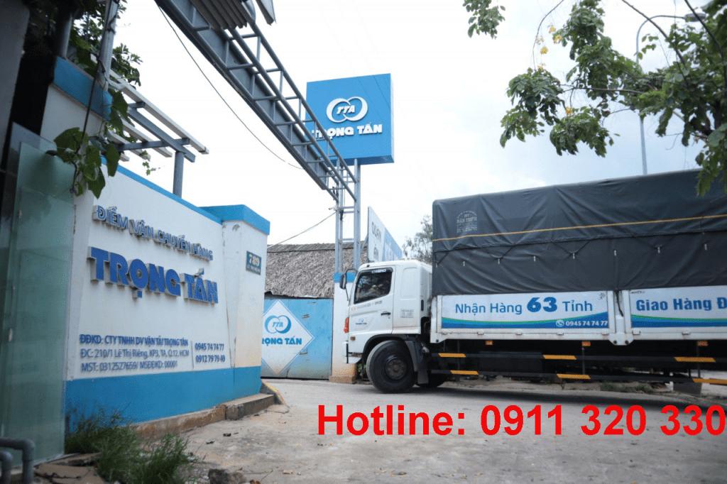 Chành xe ghép hàng đi Ninh Thuận