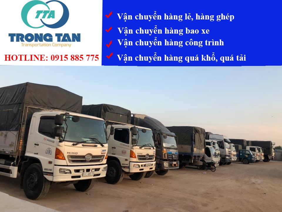 Chành xe ghép hàng Hà Nội Bình Dương