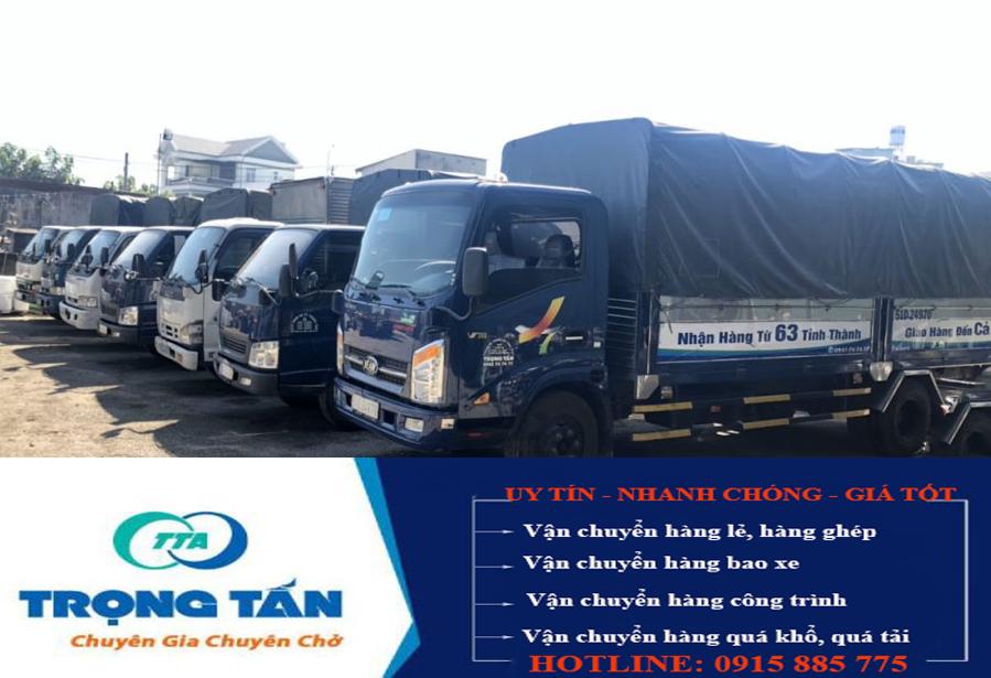 Chành xe ghép hàng Sài Gòn Phú Yên