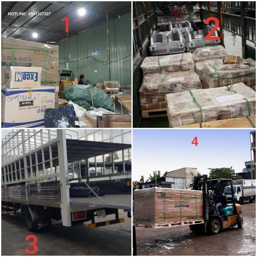Vận chuyển hàng ghép đi Nha Trang
