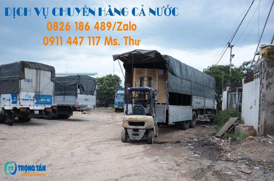 Chở Hàng Từ TP. HCM Đi Bỉm Sơn