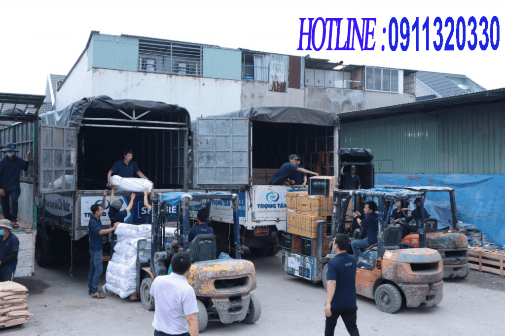 Hàng hóa ghép đi Vũng Tàu