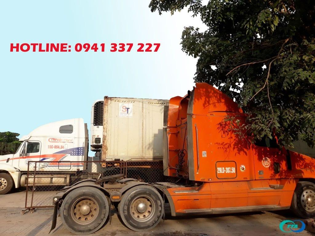 xe container chuyển hàng Hà Nội Quảng Nam