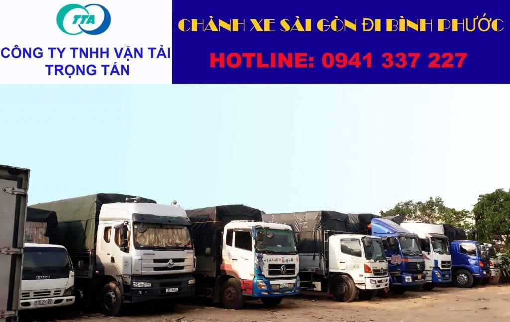 Chành xe Sài Gòn đi Bình Phước