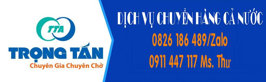 Chở hàng hai chiều Sài Gòn đi Việt Trì