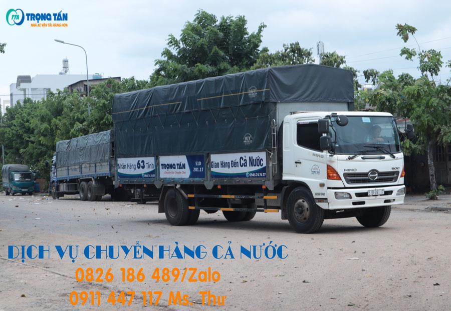 Chành xe chở hàng Sài Gòn đi Hà Tĩnh