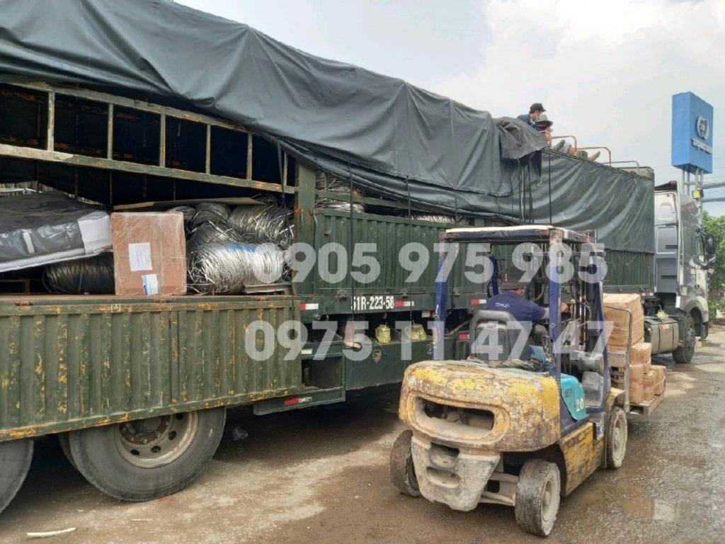 Đội ngũ xe tải của chành xe gửi hàng ĐăkLăk Sài Gòn