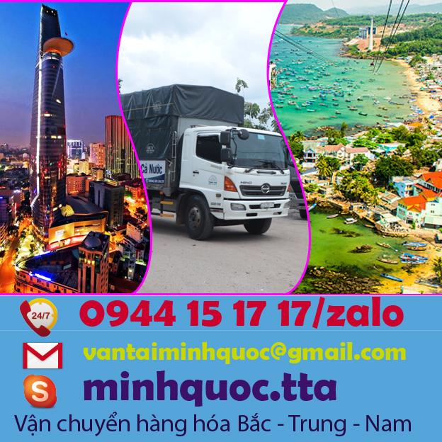 Chành xe gửi hàng từ Sài Gòn Đi Phú Quốc