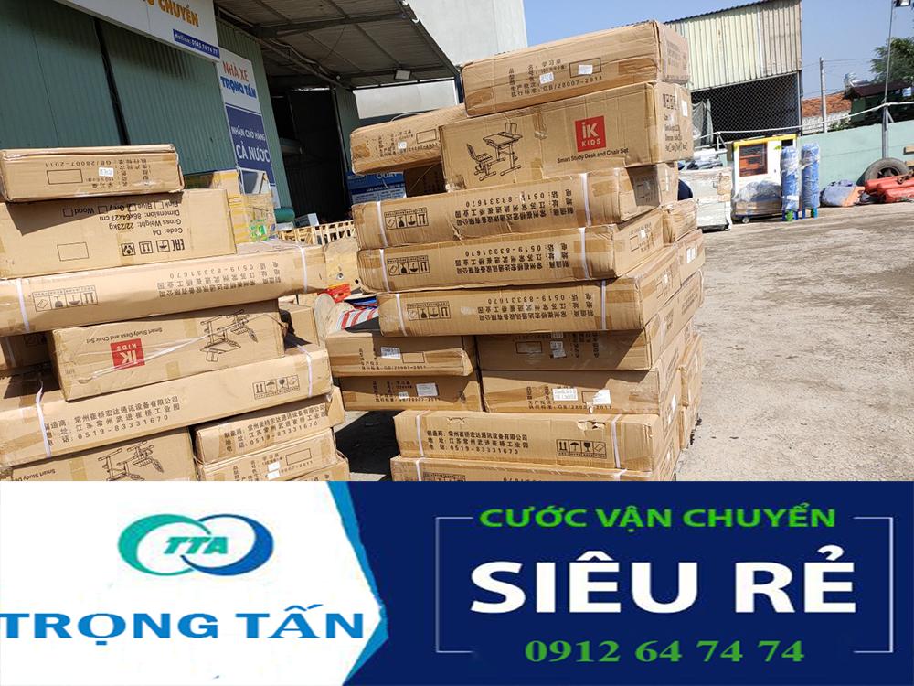 Góc hàng hóa vận chuyển TP HCM Thái Nguyên tại nhà xe