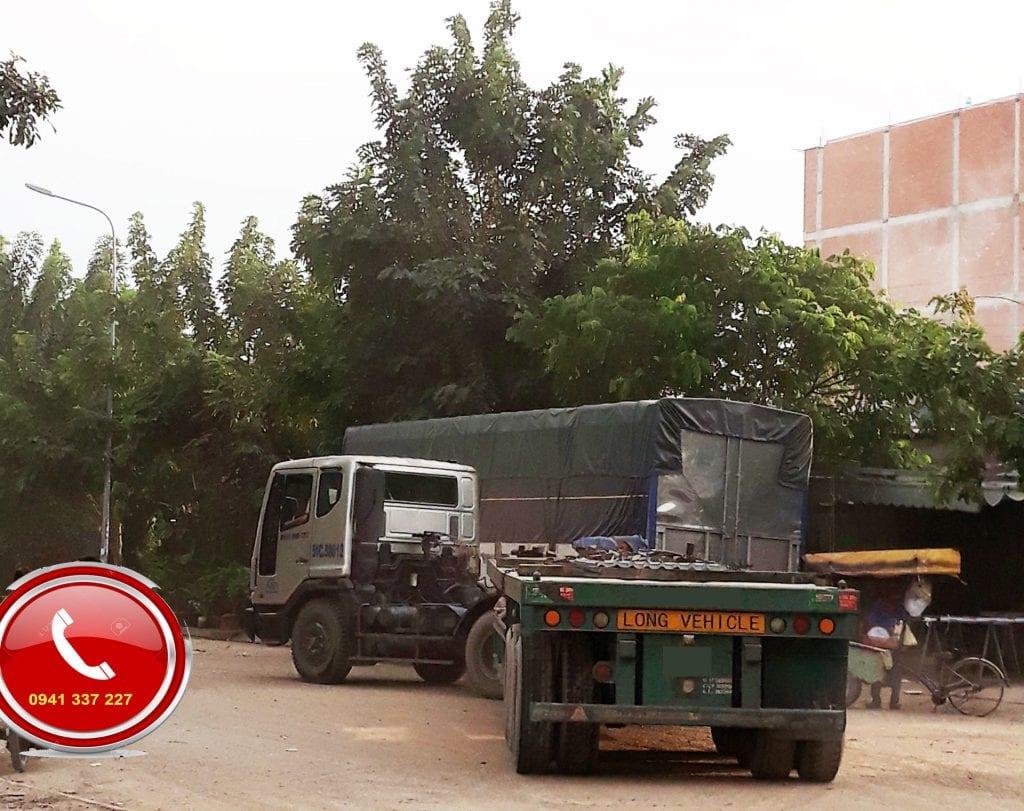 xe container chuyển hàng đi Bình Phước