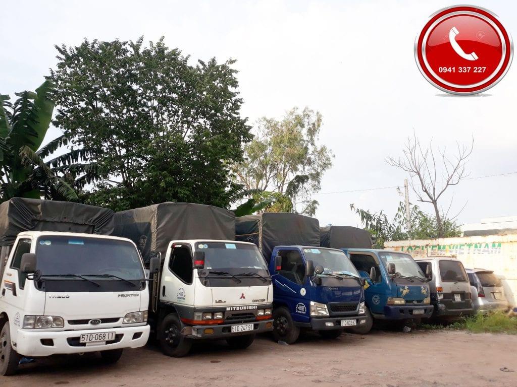 xe tải gửi hàng Bình Dương Hà Nội