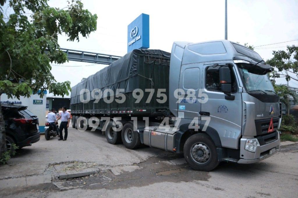 Đội xe hùng mạnh của công ty- Gửi Hàng ĐăkLăk Sài Gòn