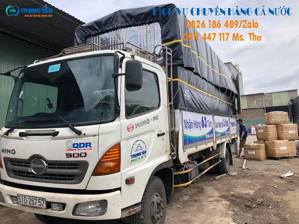 Chành xe chở hàng đi Nghệ An