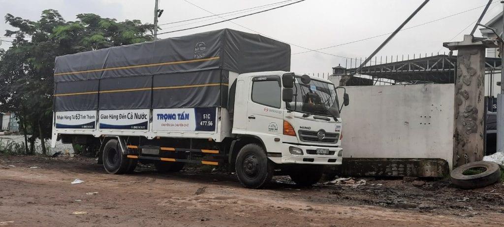 Xe chuyển hàng Hà Nội HCM
