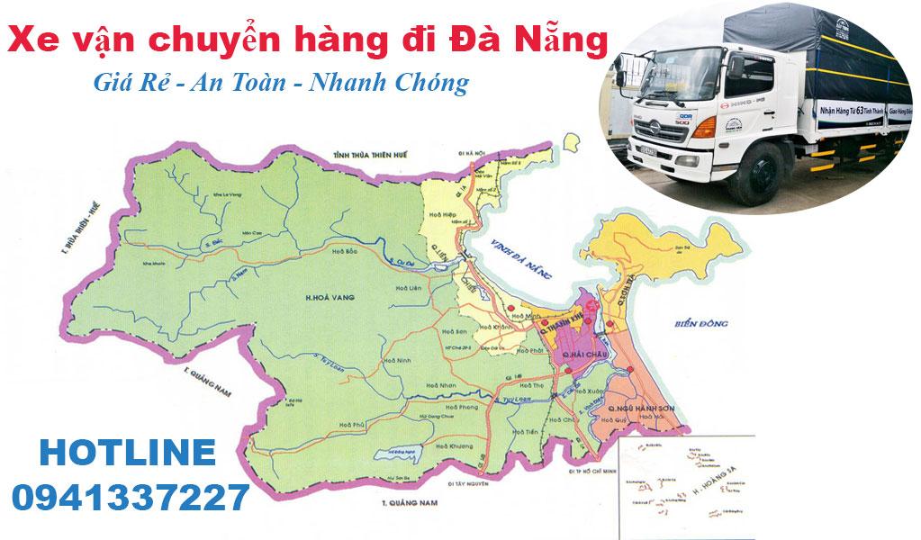 Xe chuyển hàng đi Đà Nẵng