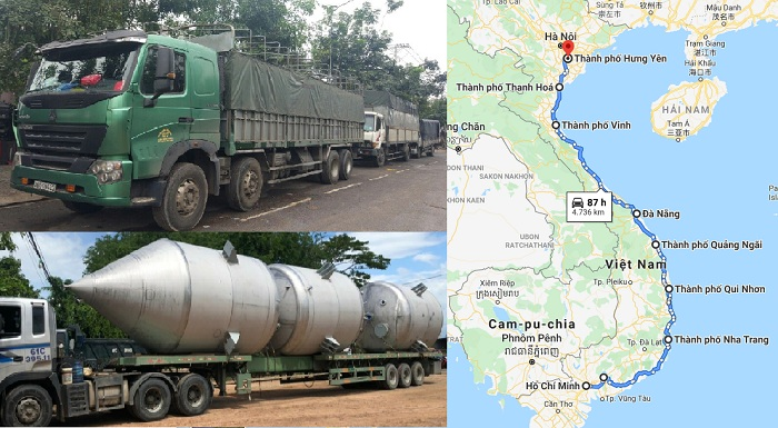 Chành xe nhận vận chuyển hàng hóa từ Sài Gòn đi Hưng Yên