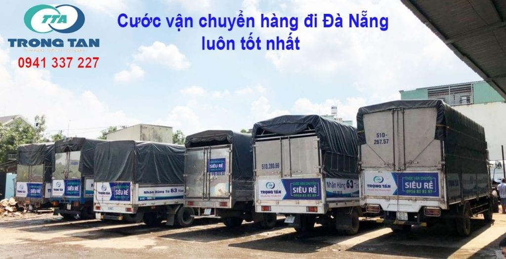 Cước xe chuyển hàng đi Đà Nẵng