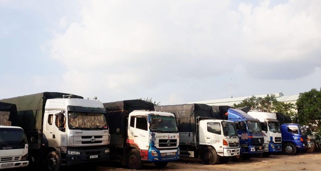 Đội ngũ xe chuyển hàng Hà Nội đi Bình Chánh