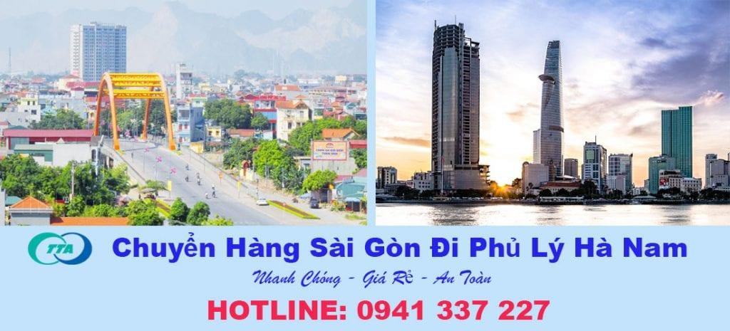 Gửi hàng Sài Gòn đi Phủ Lý Hà Nam
