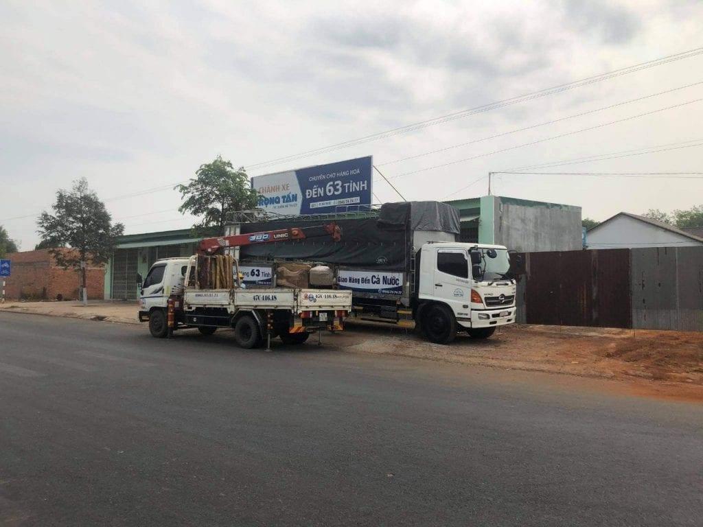 Kho Trọng Tấn Ở ĐăkLăk nằm trên quốc lộ dễ dàng vận chuyển hàng