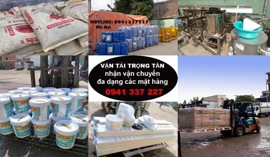 Các loại hàng hóa chuyển đi Nha Trang