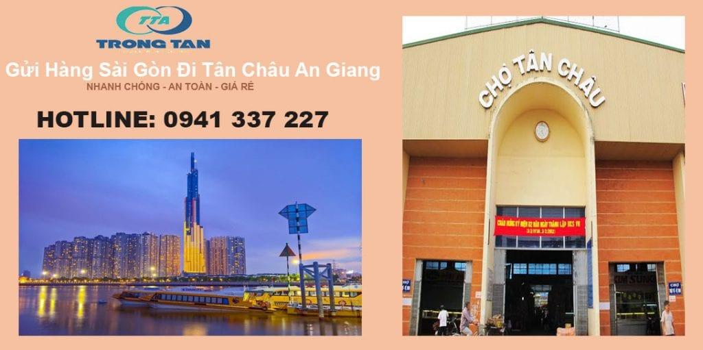 Gửi hàng Sài Gòn đi Tân Châu