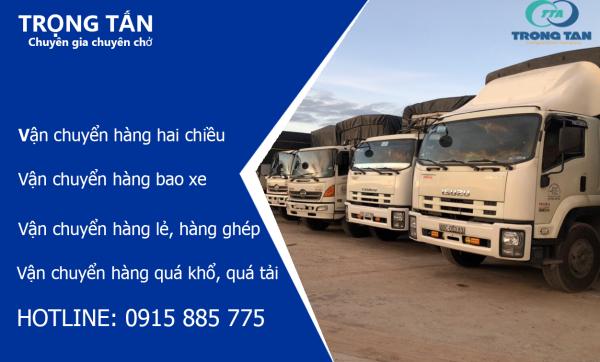 Ghép hàng từ HCM đi An Giang