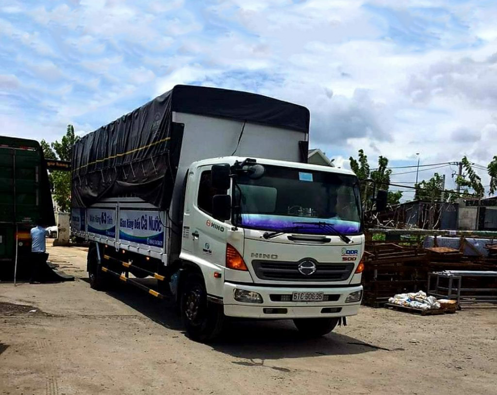 Chành xe ghép hàng Hà Nội Kiên Giang