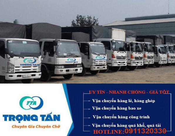 Xe chành chở hàng Nha Trang đi Đông Anh Hà Nội