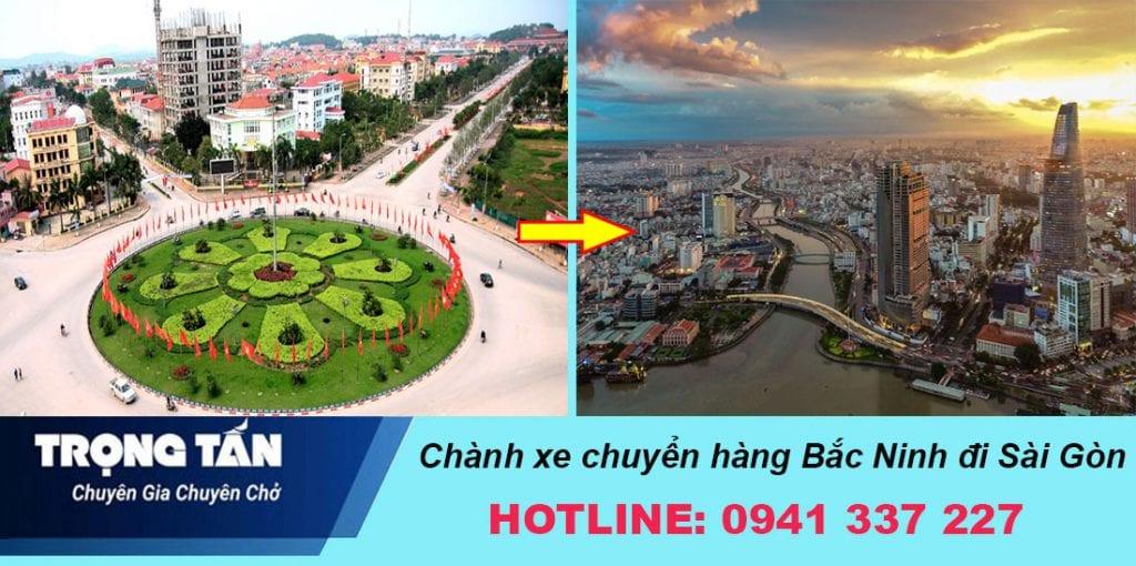 Chành xe chuyển hàng Bắc Ninh đi Sài Gòn