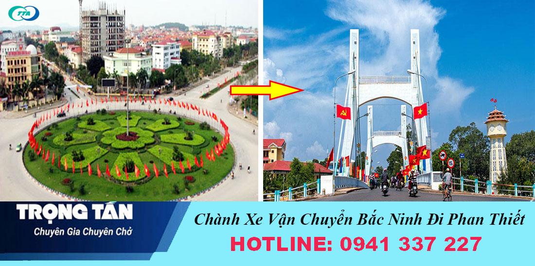 Chành xe Bắc Ninh đi Phan Thiết