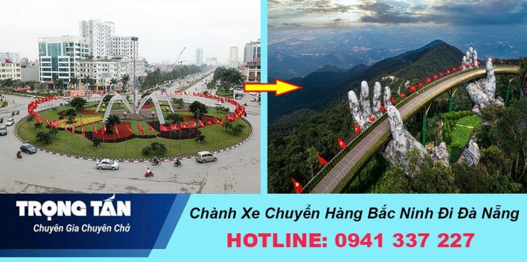 Chành xe Bắc Ninh đi Đà Nẵng