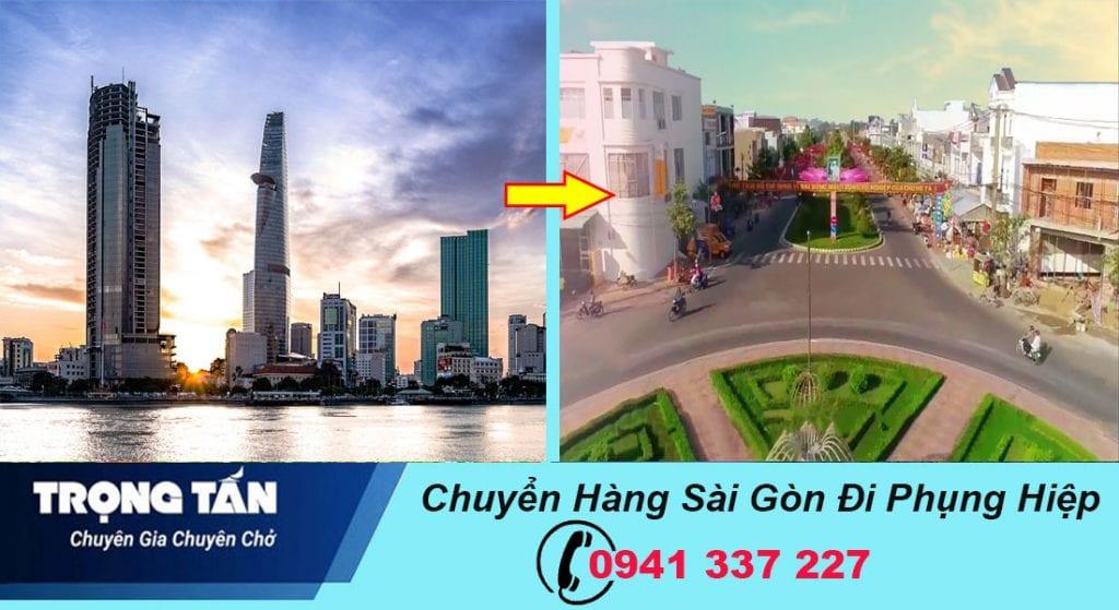 Chuyển hàng Sài Gòn đi Phụng Hiệp