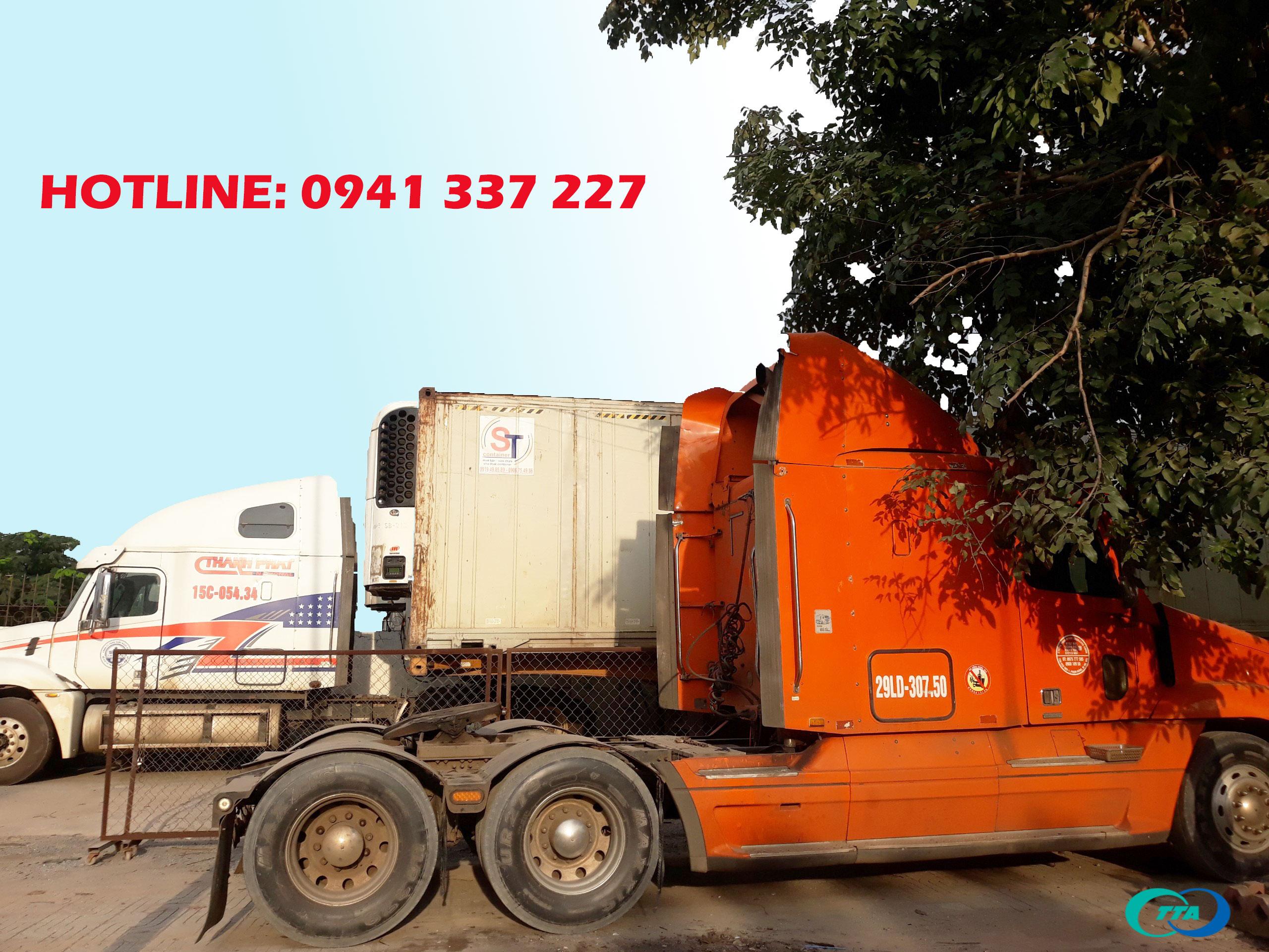 xe container chuyển hàng đi Tam Kỳ