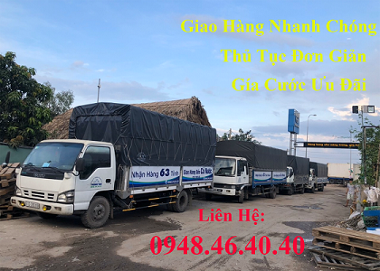 Chành Xe Đà Nẵng Đi Bảo Lộc có các loại xe từ 500 ký đến 70 tấn rất đa dạng