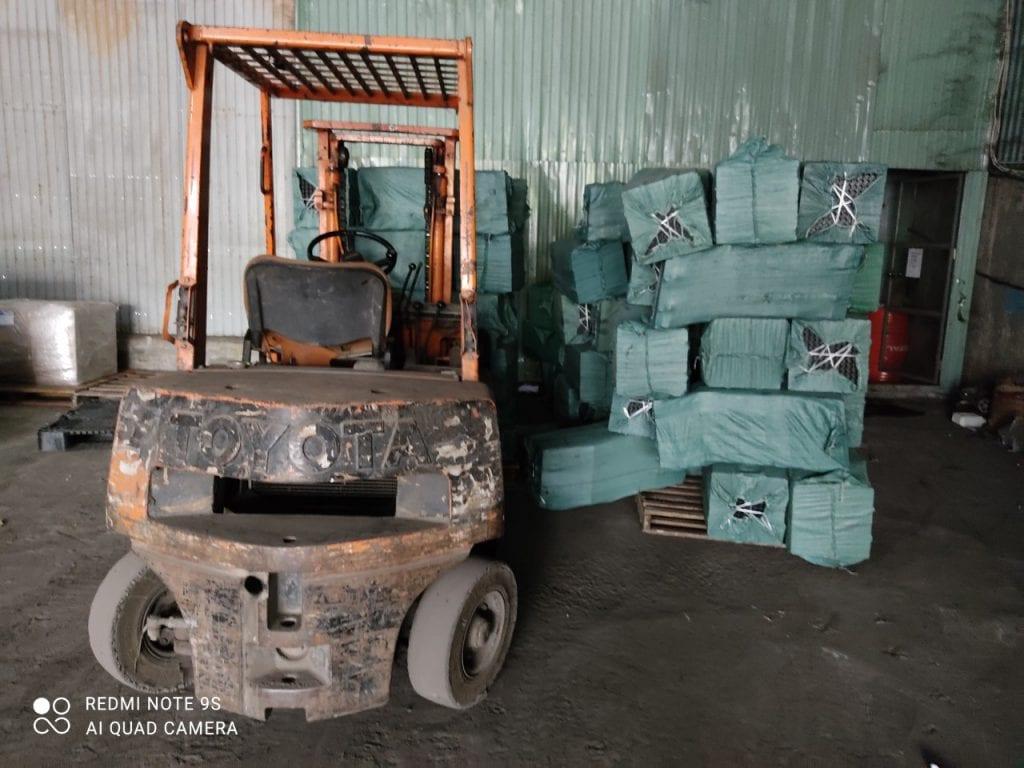 Nhận Ghép Hàng Đà Nẵng Sài Gòn hàng ghép được xếp gọn trong kho đợi ghép