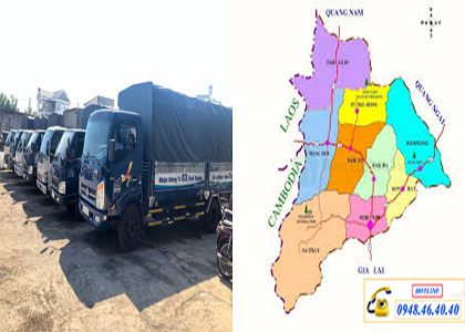 Vận Chuyển Hàng Đà Nẵng Đi Kom Tum xe tải chuyên chở hàng đi kom tum