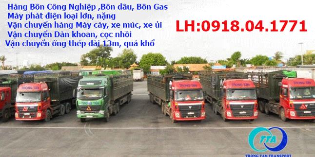 Vận chuyển máy móc thiết bị hạng nặng TPHCM Hà Nội